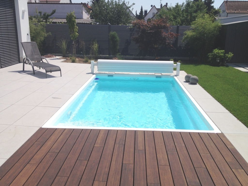 California 5 5m 3m 1 4m gfk for Garten pool 3m