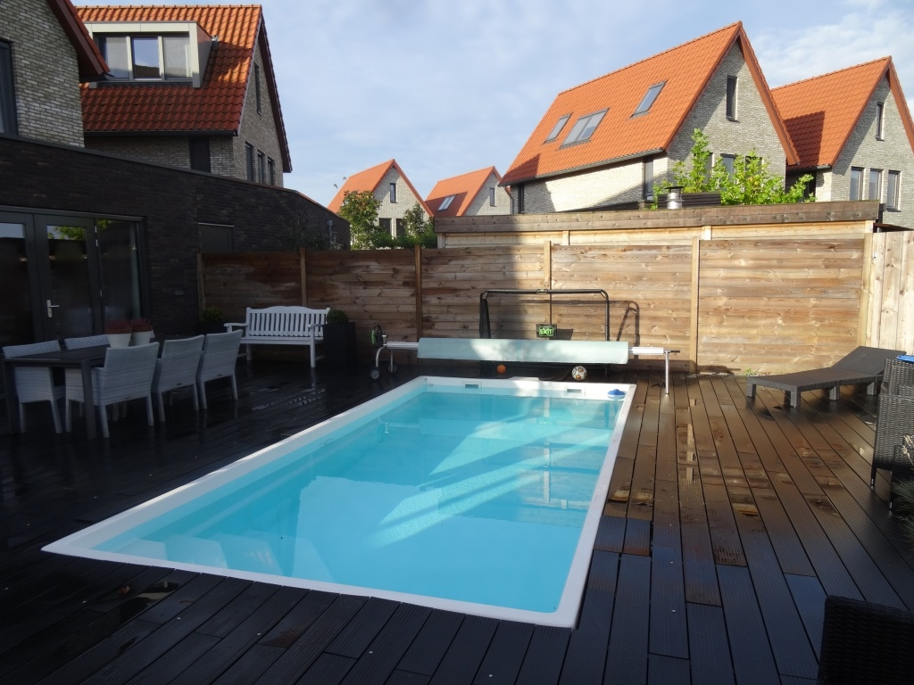 California 6 6m 3m 1 45m gfk for Pool schwimmbecken