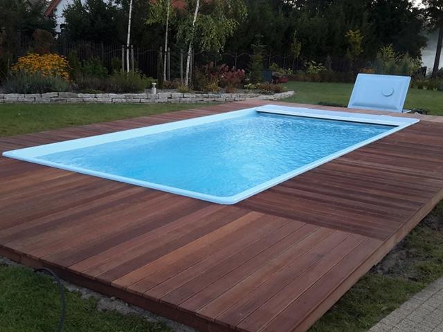 Texas 2 u 8m 3 7m 1 5m gfk for Schwimmbecken polyester